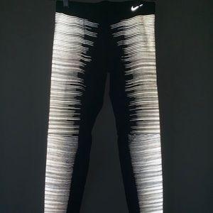 Reflective Nike Leggings (worn once)